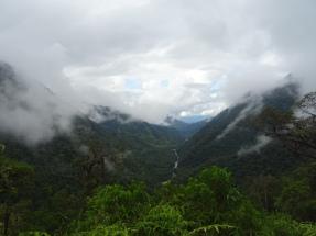 View down to Manu