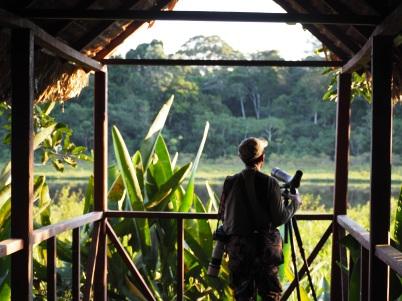 Birdwatching with Alex